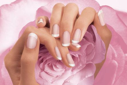 Наращивание ногтей - акрил стандарт в студии салона красоты FEN-X (ФЕНИКС)