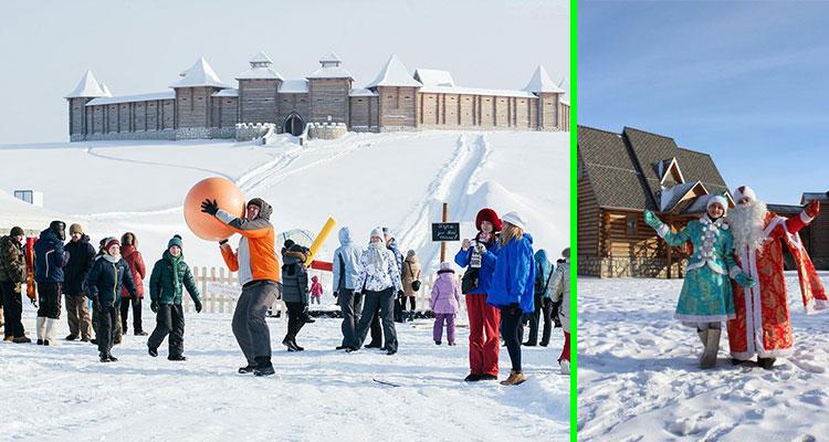 Поездка на «Кудыкину гору» в резиденцию Деда Мороза