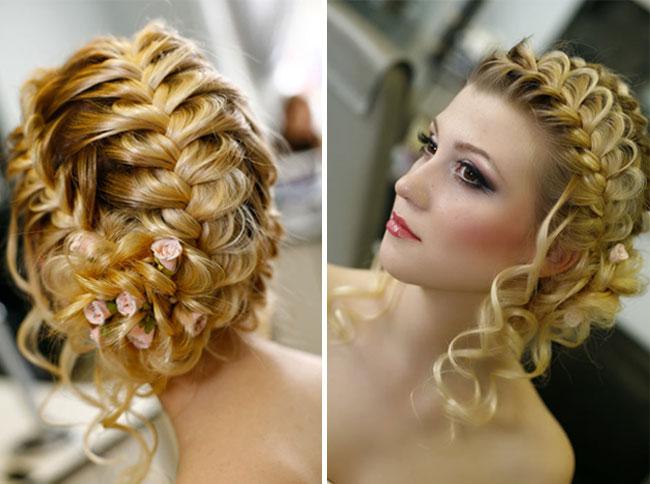 Фото красивых причёсок на праздник